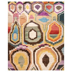 21st Century Modern Moroccan Style Wool Rug