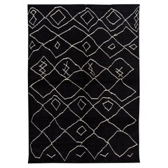 21st Century Modern Moroccan-Style Wool Rug
