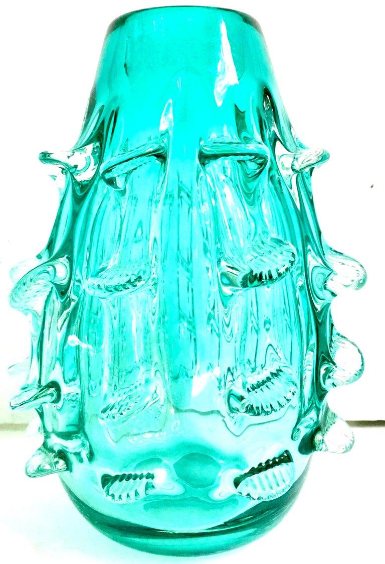 21st century and new organic moderns Murano style blown art glass