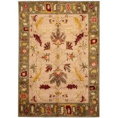 21st Century Modern Nepalese Arts & Crafts Wool Rug