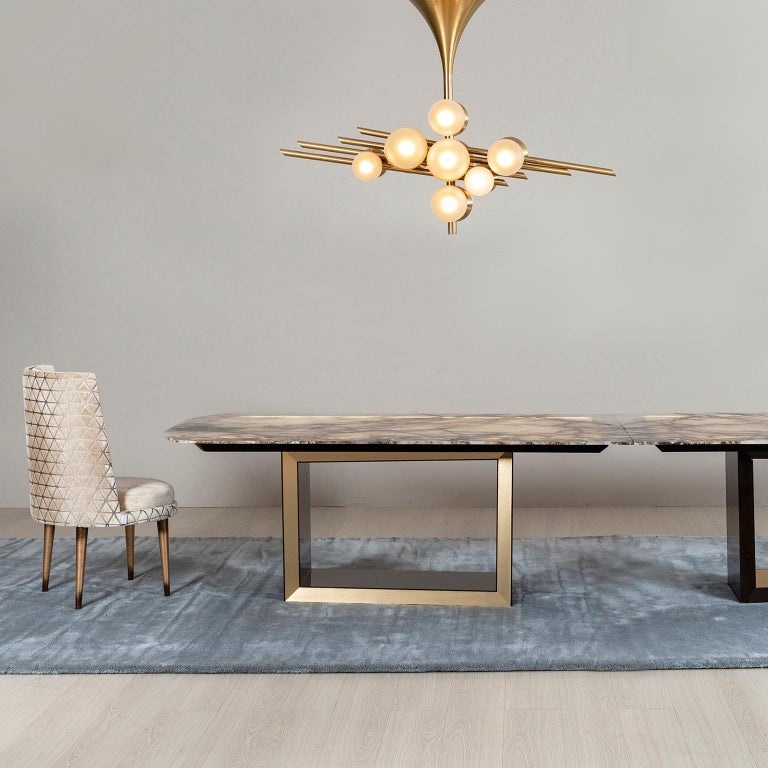21st Century Modern Olisippo 6-Seat Table Handcrafted in Portugal by Greenapple For Sale 4