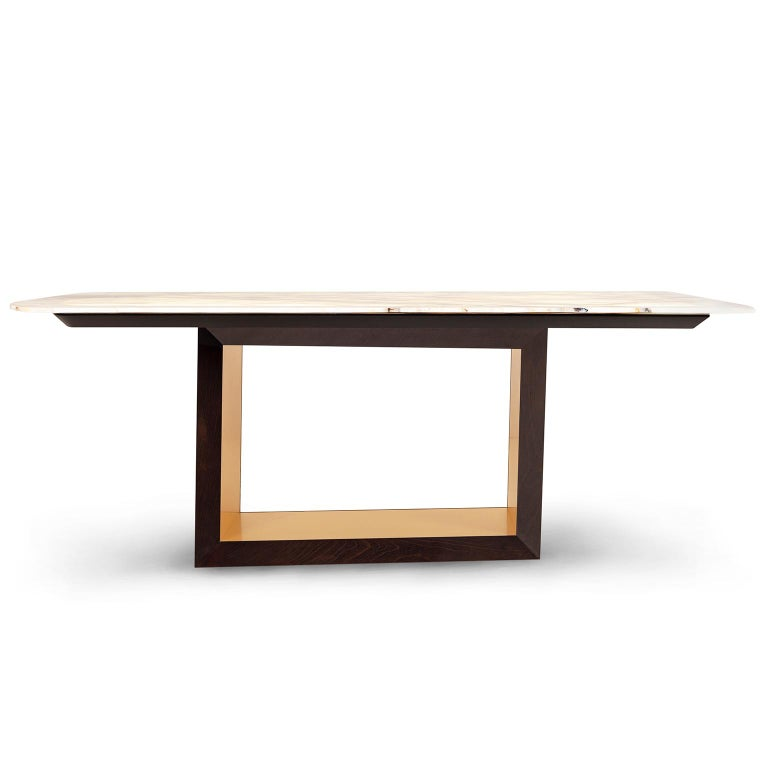 21st Century Modern Olisippo 6-Seat Table Handcrafted in Portugal by Greenapple In New Condition For Sale In Cartaxo, PT