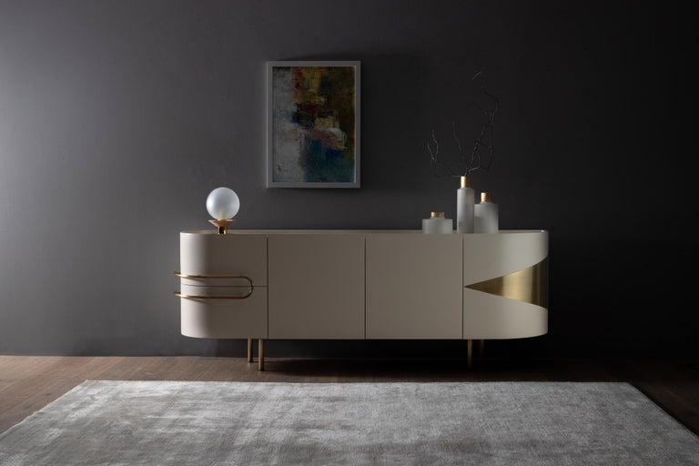 21st Century Modern Olival Sideboard Handcrafted in Portugal by Greenapple For Sale 4