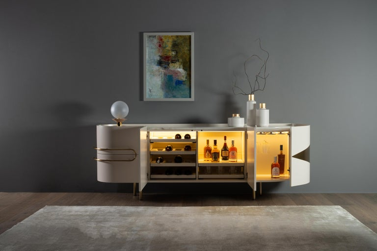 21st Century Modern Olival Sideboard Handcrafted in Portugal by Greenapple For Sale 5