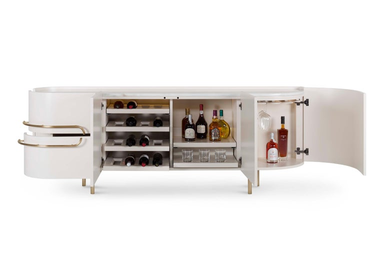 Portuguese 21st Century Modern Olival Sideboard Handcrafted in Portugal by Greenapple For Sale