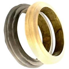 21st Century Modern Pair Of Lucite Bangle Bracelets By, Alexis Bittar