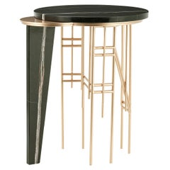 21st Century Modern Palafita Side Table Handcrafted Portugal by Greenapple
