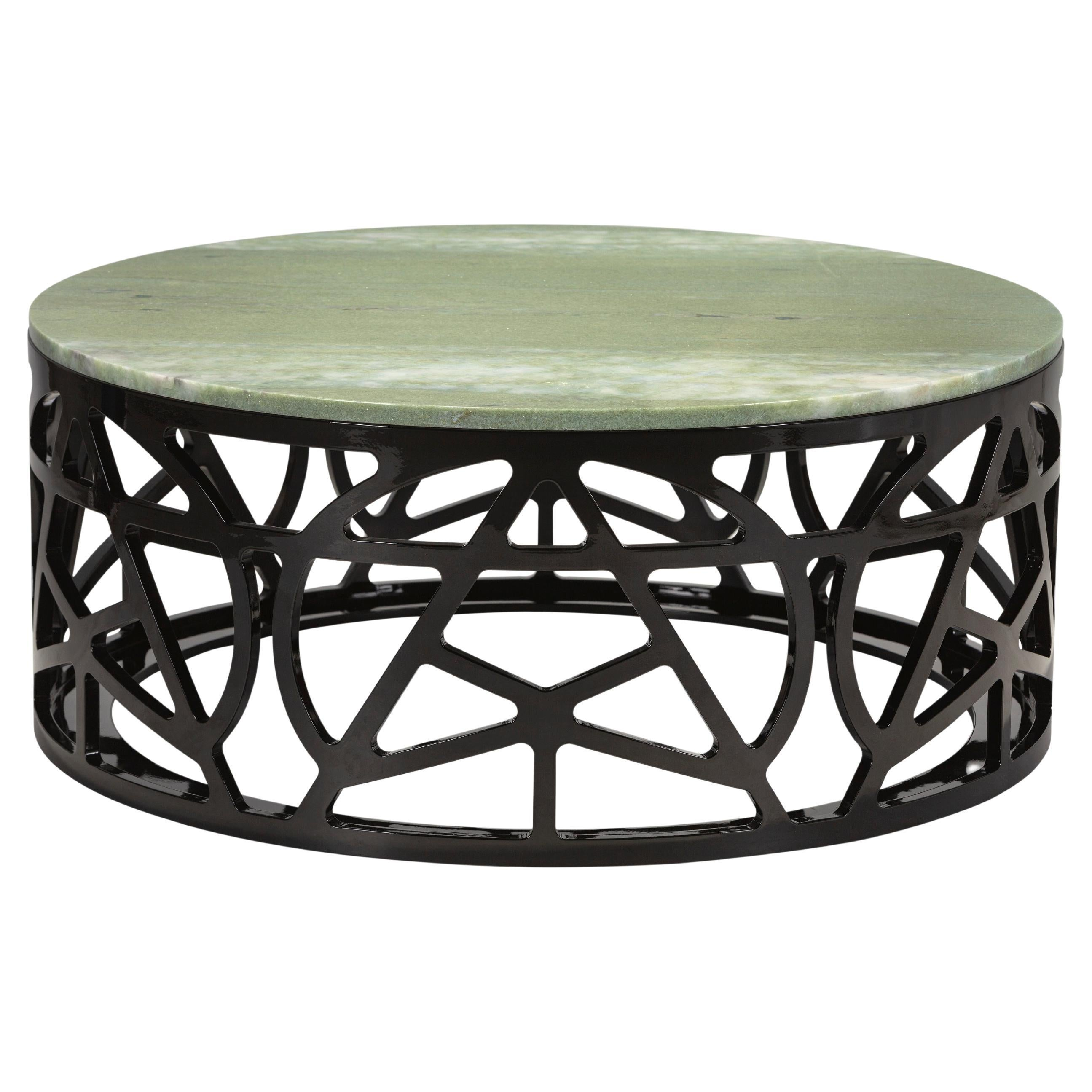 21st Century Pyrite Coffee Table Handcrafted in Portugal by Greenapple