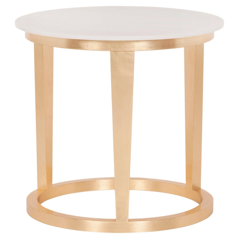 21st Century Art Deco Rubi Side Table Handcrafted in Portugal by Greenapple For Sale
