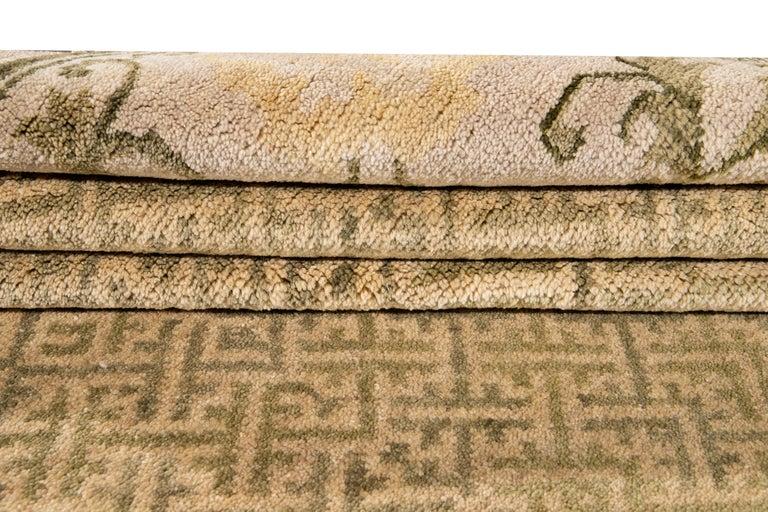21st Century Modern Sino Wool Rug For Sale 7