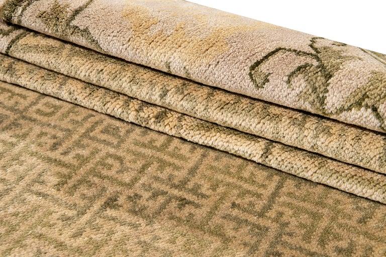 21st Century Modern Sino Wool Rug For Sale 8