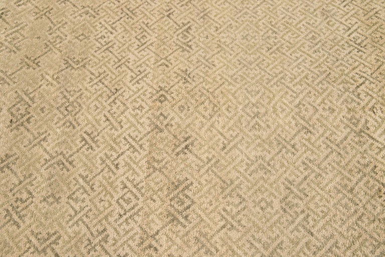 21st Century Modern Sino Wool Rug For Sale 1