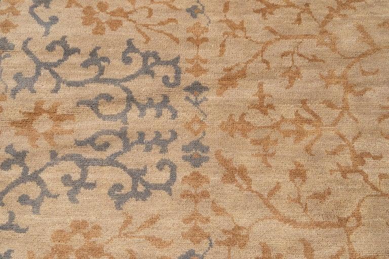 21st Century Modern Spanish Sino Oversize Wool Rug For Sale 6