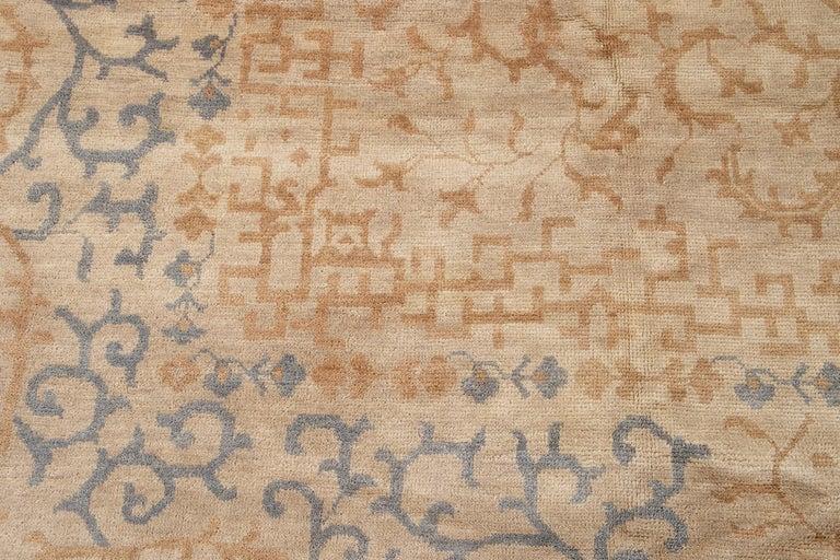 21st Century Modern Spanish Sino Oversize Wool Rug For Sale 8