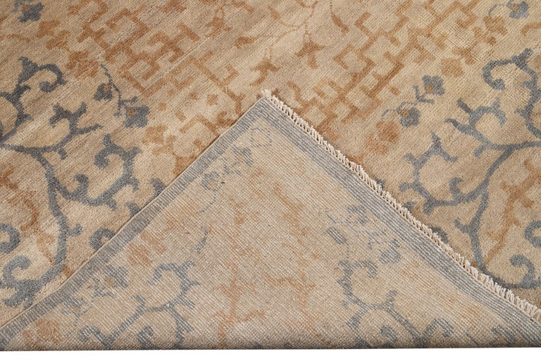 21st Century Modern Spanish Sino Oversize Wool Rug For Sale 9