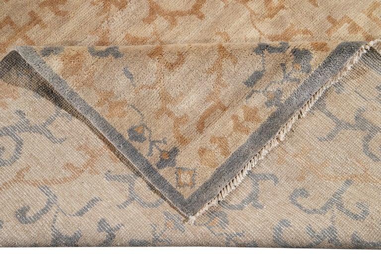 21st Century Modern Spanish Sino Oversize Wool Rug For Sale 10