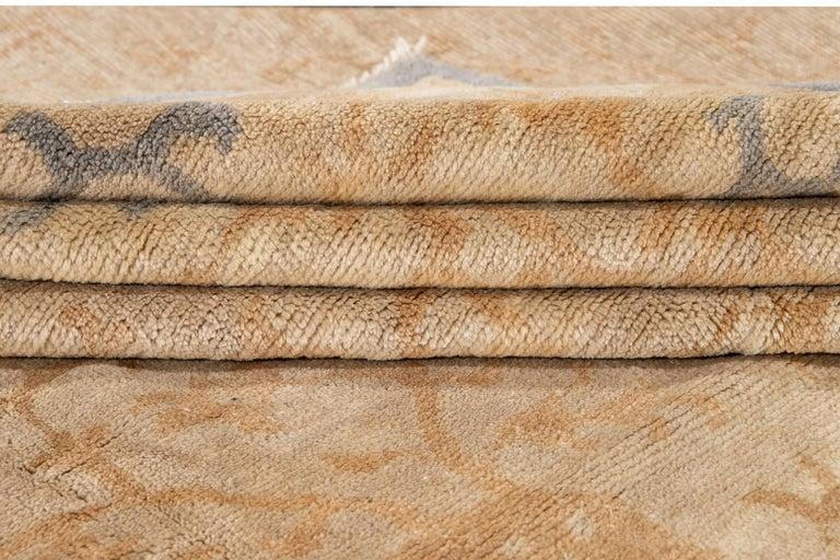21st Century Modern Spanish Sino Oversize Wool Rug For Sale 11