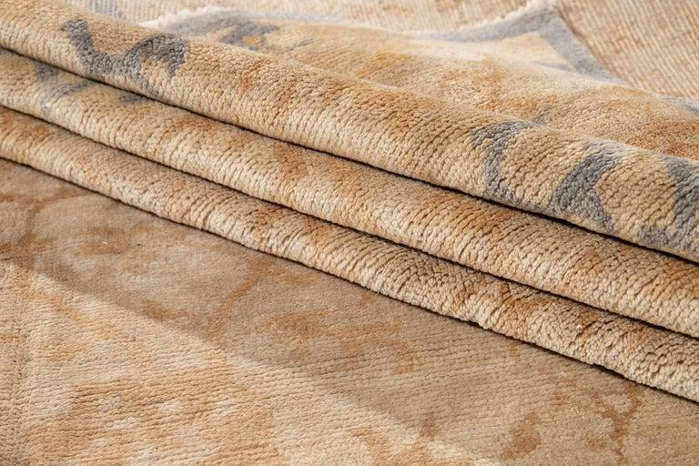 21st Century Modern Spanish Sino Oversize Wool Rug For Sale 12