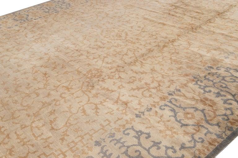 21st Century Modern Spanish Sino Oversize Wool Rug For Sale 1