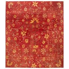 21st Century Modern Tibetan Wool Rug