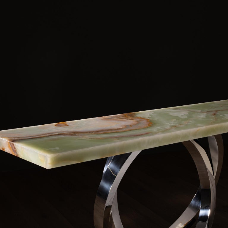 21st Century Modern Turim Console Handcrafted in Portugal by Greenapple For Sale 3