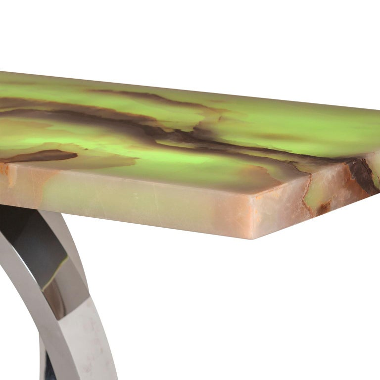 21st Century Modern Turim Console Handcrafted in Portugal by Greenapple In New Condition For Sale In Cartaxo, PT