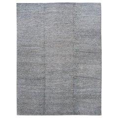 21st Century Modern Wool and Silk Rug