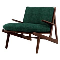 21st Century Moore Armchair Walnut Wood