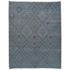 21. Jahrhundert Marokkanischer Berber Kelim Teppich
