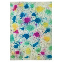 Doris Leslie Blau Collection Multi-Color Daliesque Handmade Wool Rug