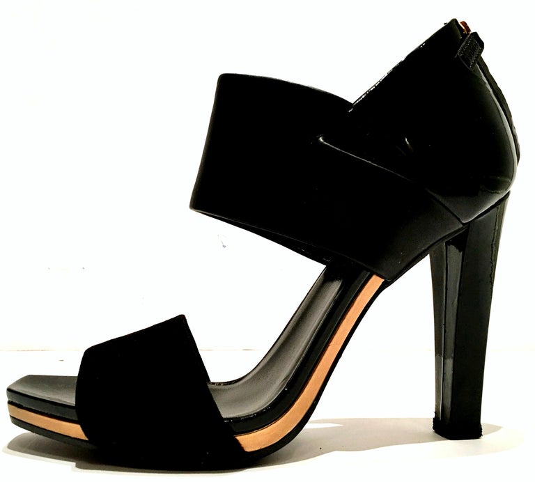 21st Century & New Italian Leather Platform Sandals By, Gucci 4
