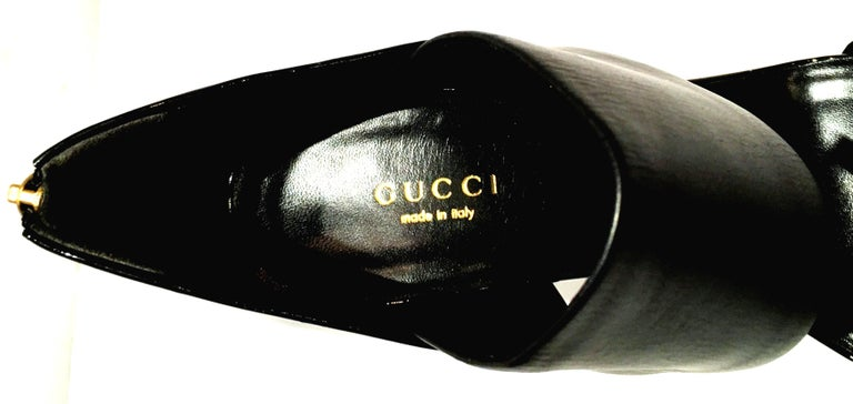 21st Century & New Italian Leather Platform Sandals By, Gucci 10