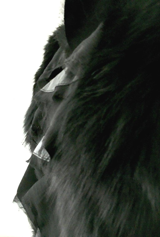 21st Century & New Leather Fox & Lace Shirt Jacket By, Royal Underground 9