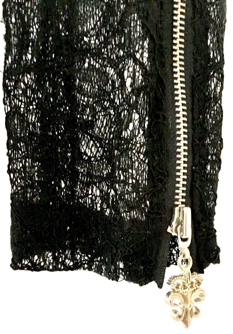 21st Century & New Leather Fox & Lace Shirt Jacket By, Royal Underground 10