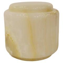 21st Century Onyx Jar with Detachable Lid
