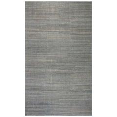 21st Century Oversized Contemporary Gray Handmade Wool Rug