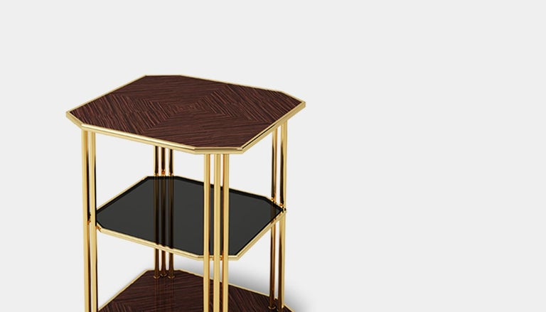 Contemporary 21st Century Paramount Side Table For Sale
