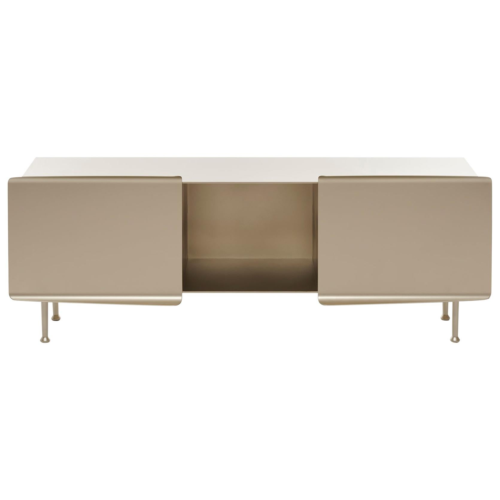 "21st Century FUCINA Pauline Deltour ""356"" Low Sideboard Champagne"