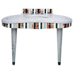 21st Century Polichrome Marble Washbasin Designed by Arch, Fabrizia Scarsellati