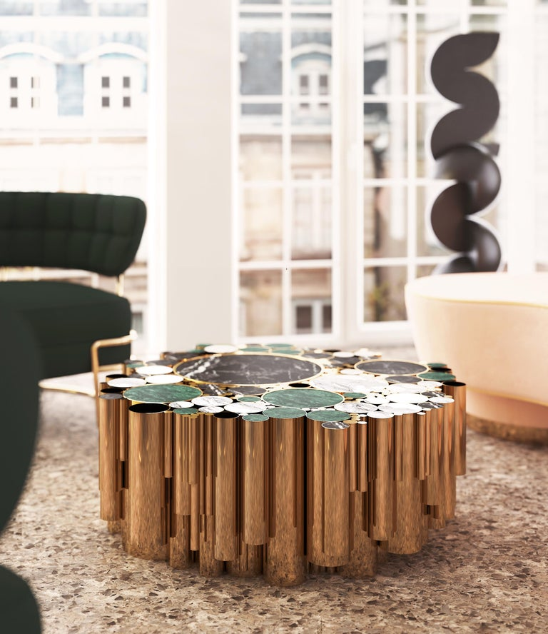 Wanderlust center table is one of the Malabar's bestsellers.