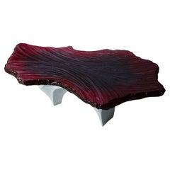 21st Century Primal Table, Sculpted by Eduard Locota, Resin and Jesmonite