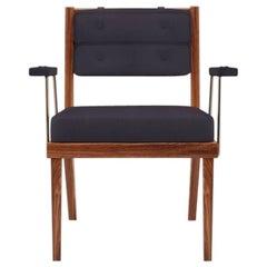 21st Century Robinson Dining Chair Walnut Wood