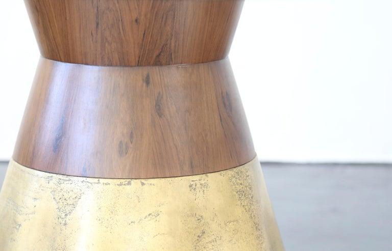 21st Century Round Cast Bronze