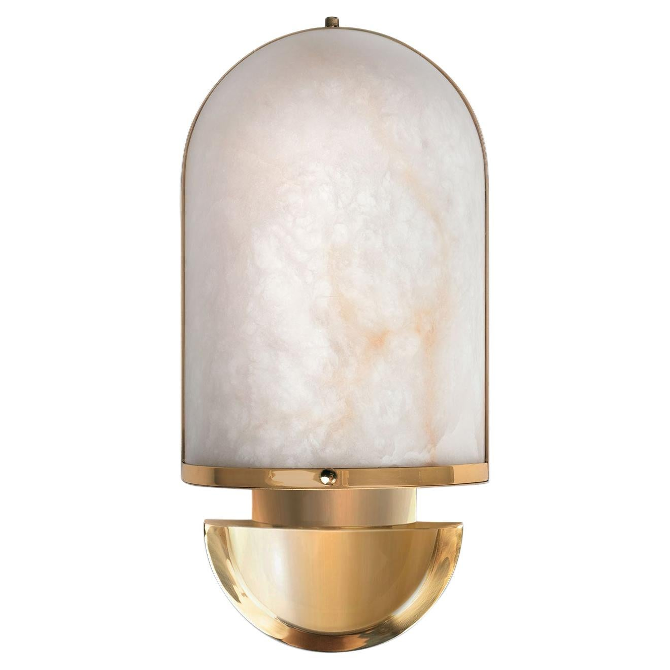 21st Century Russell Wall Lamp Alabaster