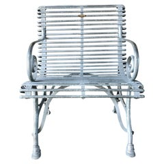 21st Century Saint Nicholas Chair, French Metal Armchair