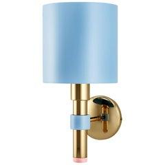 21st Century Salamanca Wall Lamp Aluminium Brass