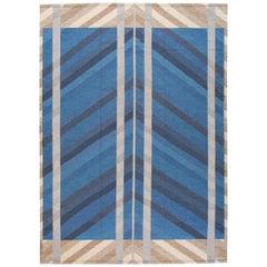 21st Century Scandinavian Style Kilim Rug