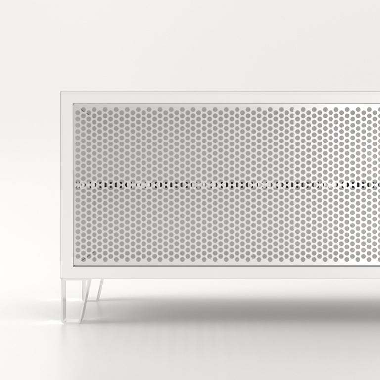 Modern 21st Century Sideboard by Paola Navone for De Rosso HPL Laminate For Sale