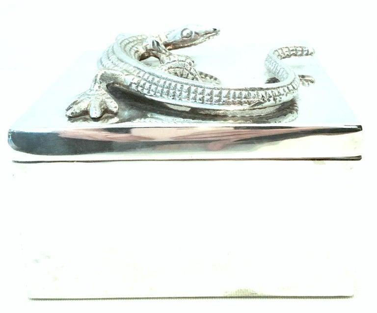 Modern 21st Century Silver Plate Sculptural