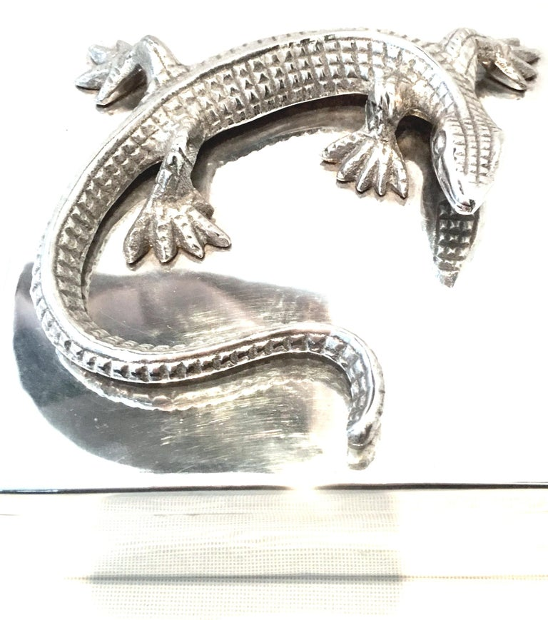 Contemporary 21st Century Silver Plate Sculptural